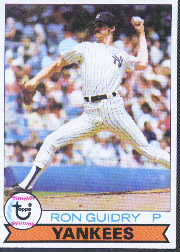1979 Topps Baseball Cards      500     Ron Guidry