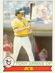 1979 Topps Baseball Cards      507     Tony Armas