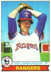 1979 Topps Baseball Cards      518     Jim Umbarger