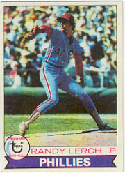 1979 Topps Baseball Cards      052      Randy Lerch