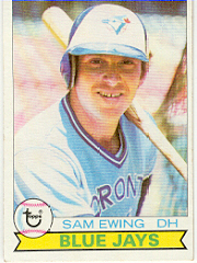 1979 Topps Baseball Cards      521     Sam Ewing