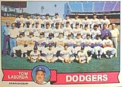 1979 Topps Baseball Cards      526     Los Angeles Dodgers CL/Tommy Lasorda
