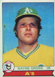 1979 Topps Baseball Cards      528     Wayne Gross DP