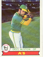 1979 Topps Baseball Cards      054      Dell Alston DP