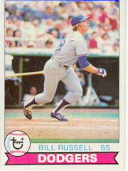 1979 Topps Baseball Cards      546     Bill Russell