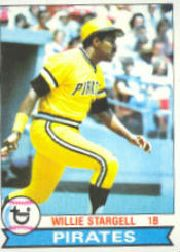 1979 Topps Baseball Cards      055      Willie Stargell