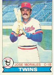 1979 Topps Baseball Cards      552     Jose Morales