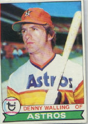 1979 Topps Baseball Cards      553     Denny Walling