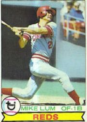 1979 Topps Baseball Cards      556     Mike Lum