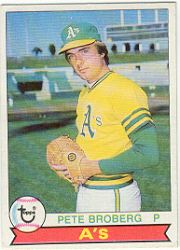 1979 Topps Baseball Cards      578     Pete Broberg