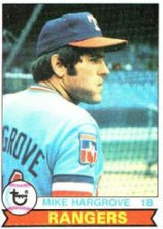 1979 Topps Baseball Cards      591     Mike Hargrove