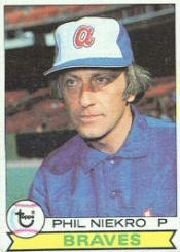 1979 Topps Baseball Cards      595     Phil Niekro