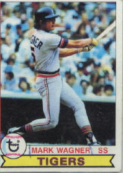 1979 Topps Baseball Cards      598     Mark Wagner