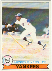 1979 Topps Baseball Cards      060      Mickey Rivers