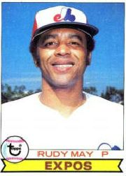 1979 Topps Baseball Cards      603     Rudy May