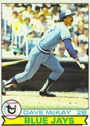 1979 Topps Baseball Cards      608     Dave McKay