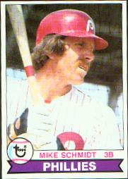 1979 Topps Baseball Cards      610     Mike Schmidt
