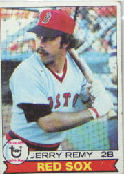1979 Topps Baseball Cards      618     Jerry Remy
