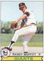 1979 Topps Baseball Cards      062      Randy Moffitt