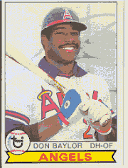 1979 Topps Baseball Cards      635     Don Baylor
