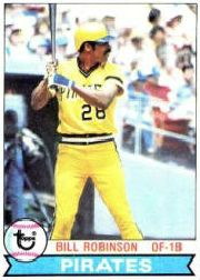 1979 Topps Baseball Cards      637     Bill Robinson