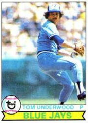 1979 Topps Baseball Cards      064      Tom Underwood