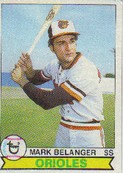 1979 Topps Baseball Cards      065      Mark Belanger