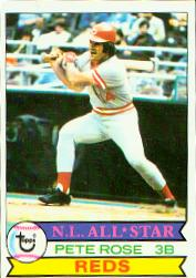 1979 Topps Baseball Cards      650     Pete Rose