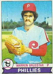 1979 Topps Baseball Cards      653     Warren Brusstar DP