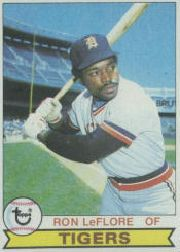 1979 Topps Baseball Cards      660     Ron LeFlore DP
