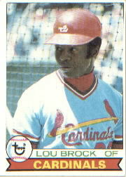 1979 Topps Baseball Cards      665     Lou Brock