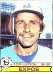 1979 Topps Baseball Cards      673     Tom Hutton