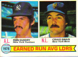 1979 Topps Baseball Cards      007      Ron Guidry/Craig Swan LL