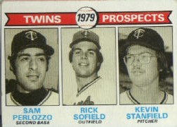 1979 Topps Baseball Cards      709     Sam Perlozzo/Rick Sofield/Kevin Stanfield RC
