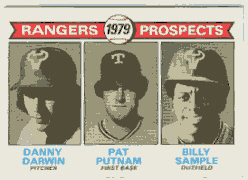 1979 Topps Baseball Cards      713     Danny Darwin/Pat Putnam/Billy Sample RC