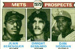 1979 Topps Baseball Cards      721     Juan Berenguer/Dwight Bernard/Dan Norman RC