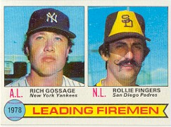1979 Topps Baseball Cards      008      Rich Gossage/Rollie Fingers LL