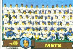 1979 Topps Baseball Cards      082      New York Mets CL/Joe Torre