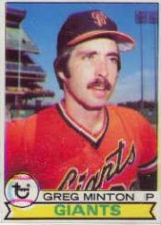 1979 Topps Baseball Cards      084      Greg Minton
