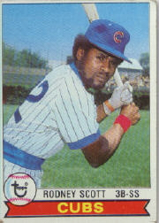 1979 Topps Baseball Cards      086      Rodney Scott