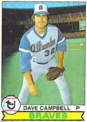 1979 Topps Baseball Cards      009      Dave Campbell