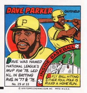 1979 Topps Comics       029      Dave Parker