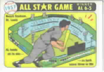 1981 Fleer All-Star Game Baseball Stickers
