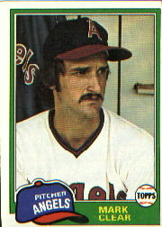 1981 Topps Baseball Cards      012      Mark Clear