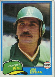 1981 Topps Baseball Cards      178     Jim Essian
