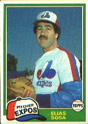 1981 Topps Baseball Cards      181     Elias Sosa