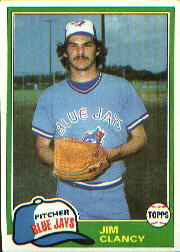 1981 Topps Baseball Cards      019      Jim Clancy