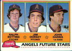 1981 Topps Baseball Cards      214     Ralph Botting/Jim Dorsey/John Harris RC