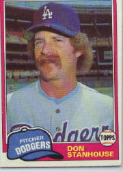 1981 Topps Baseball Cards      024      Don Stanhouse