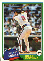 1981 Topps Baseball Cards      263     Brian Downing